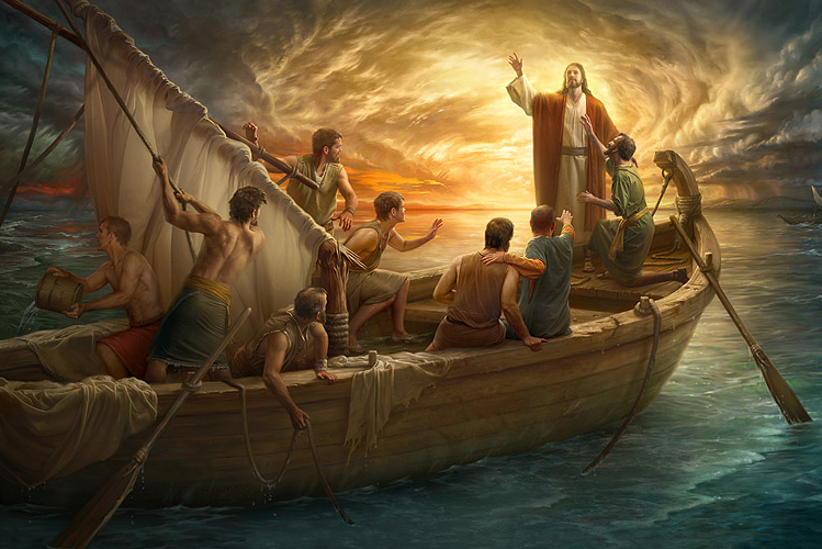 Resultado de imagem para jesus acalma a tempestade